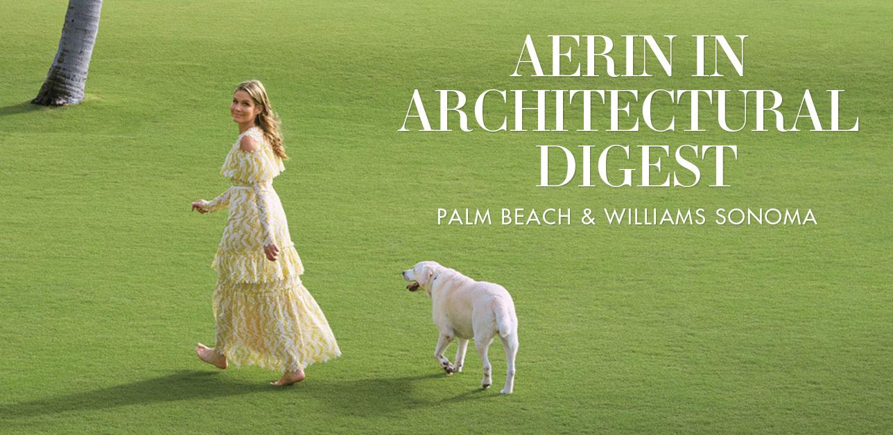 AERIN in Architectural Digest