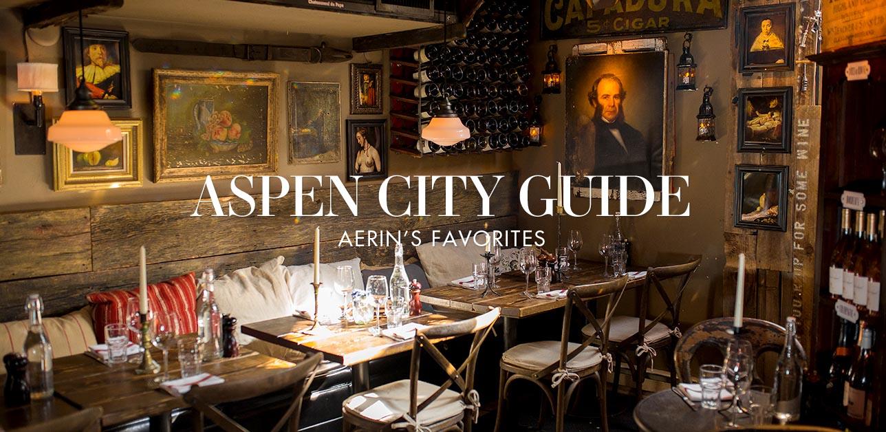 Aspen City Guide