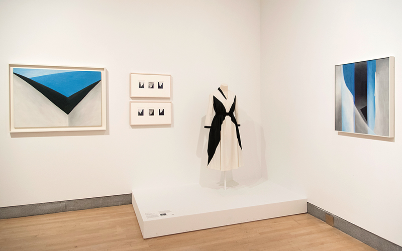 Georgia O'Keefe: Living Modern exhibit at the Brooklyn Museum