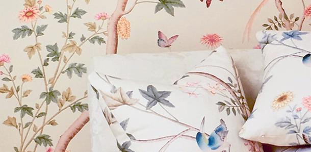 AERIN's New Fabrics & Wall Coverings