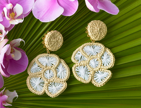 Mercedes Salazar x AERIN earrings