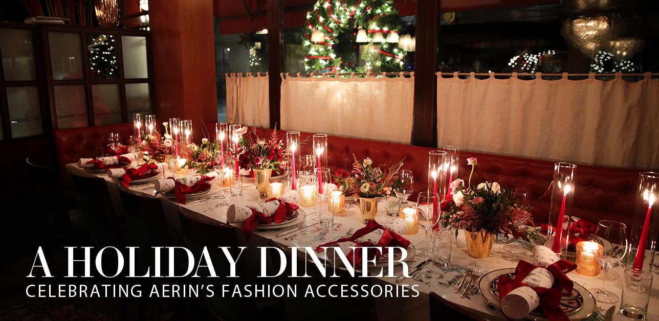 Celebrating AERIN's Fashion Accessories