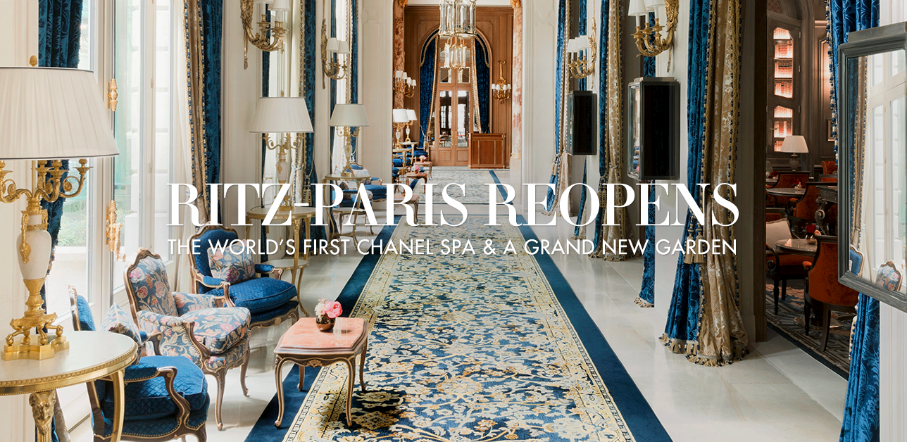 Ritz-Paris Reopens