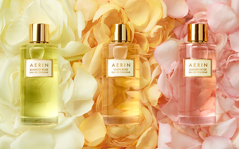 The New Rose Cologne Collection World Of Aerin