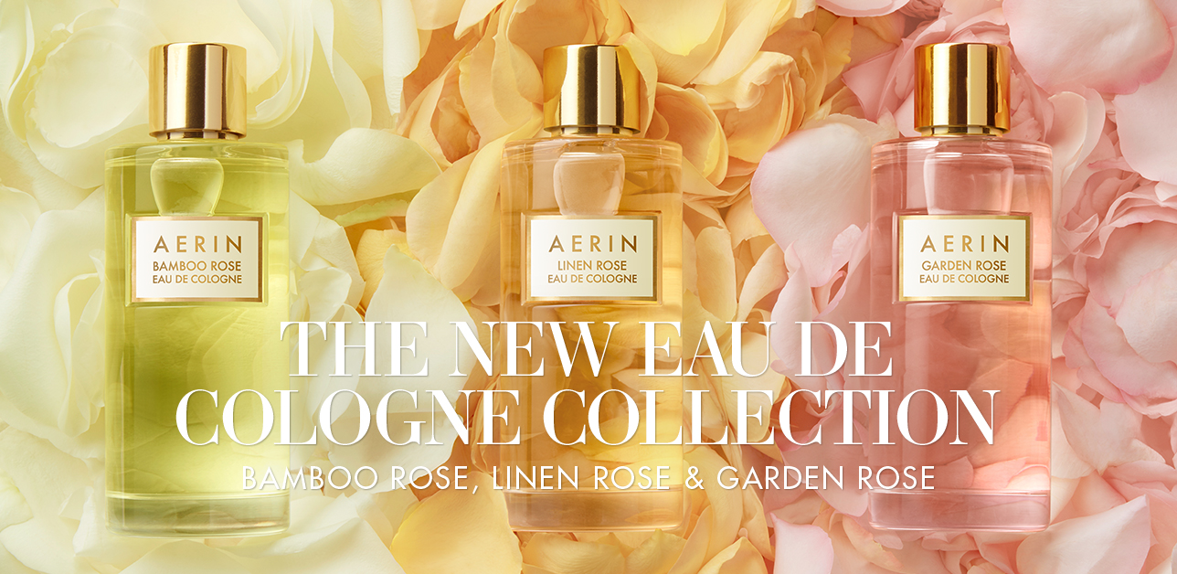 The New Rose Cologne Collection