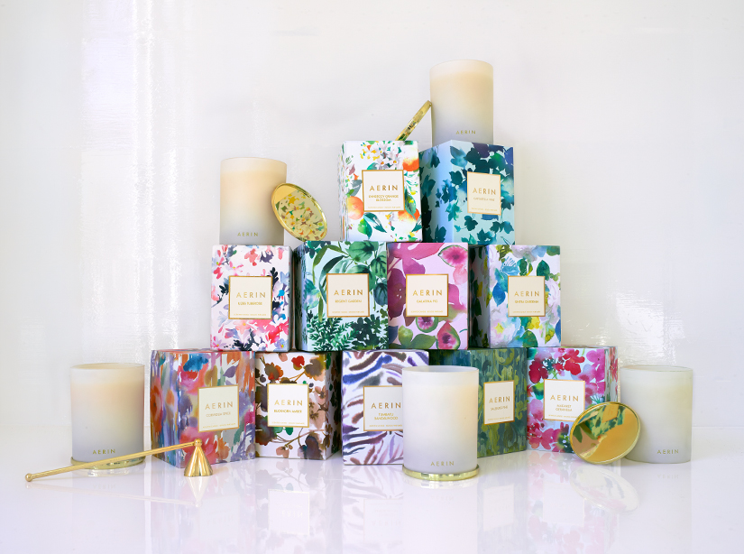 The AERIN candle collection