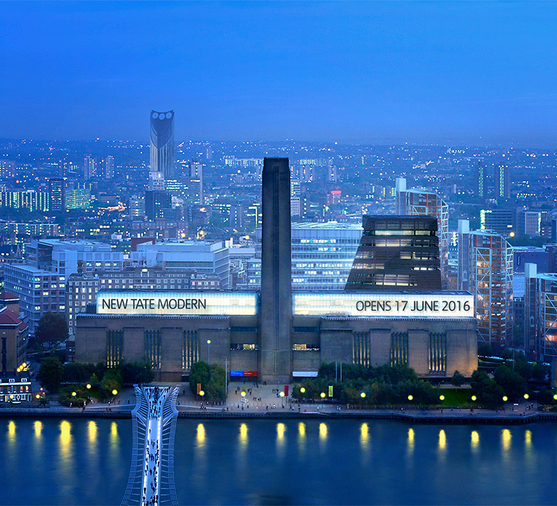 Tate Modern Expansion, London