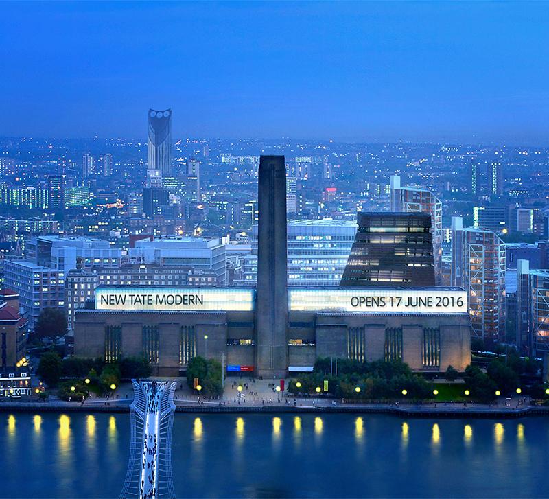 Tate Modern Expansion London World Of Aerin