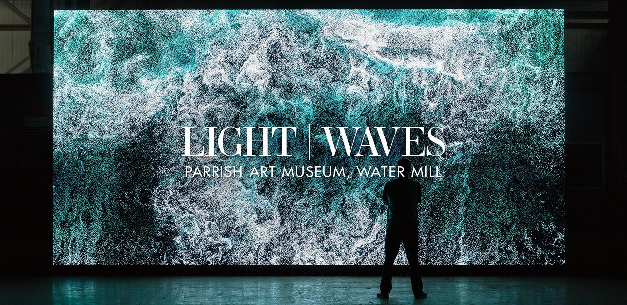 Light   Waves, Parrish Art Museum